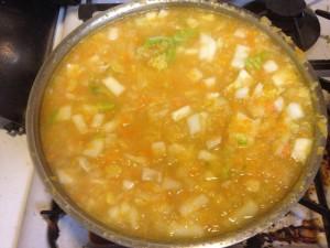 おいしいスープが・・・