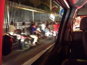 すごい渋滞