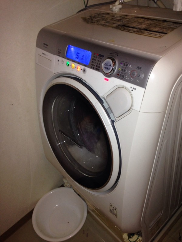 ドラム式洗濯機 排水できない・水漏れ故障、DIY修理!