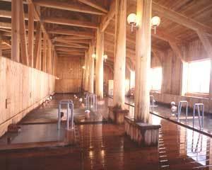 玉川温泉、ひなびた温泉です