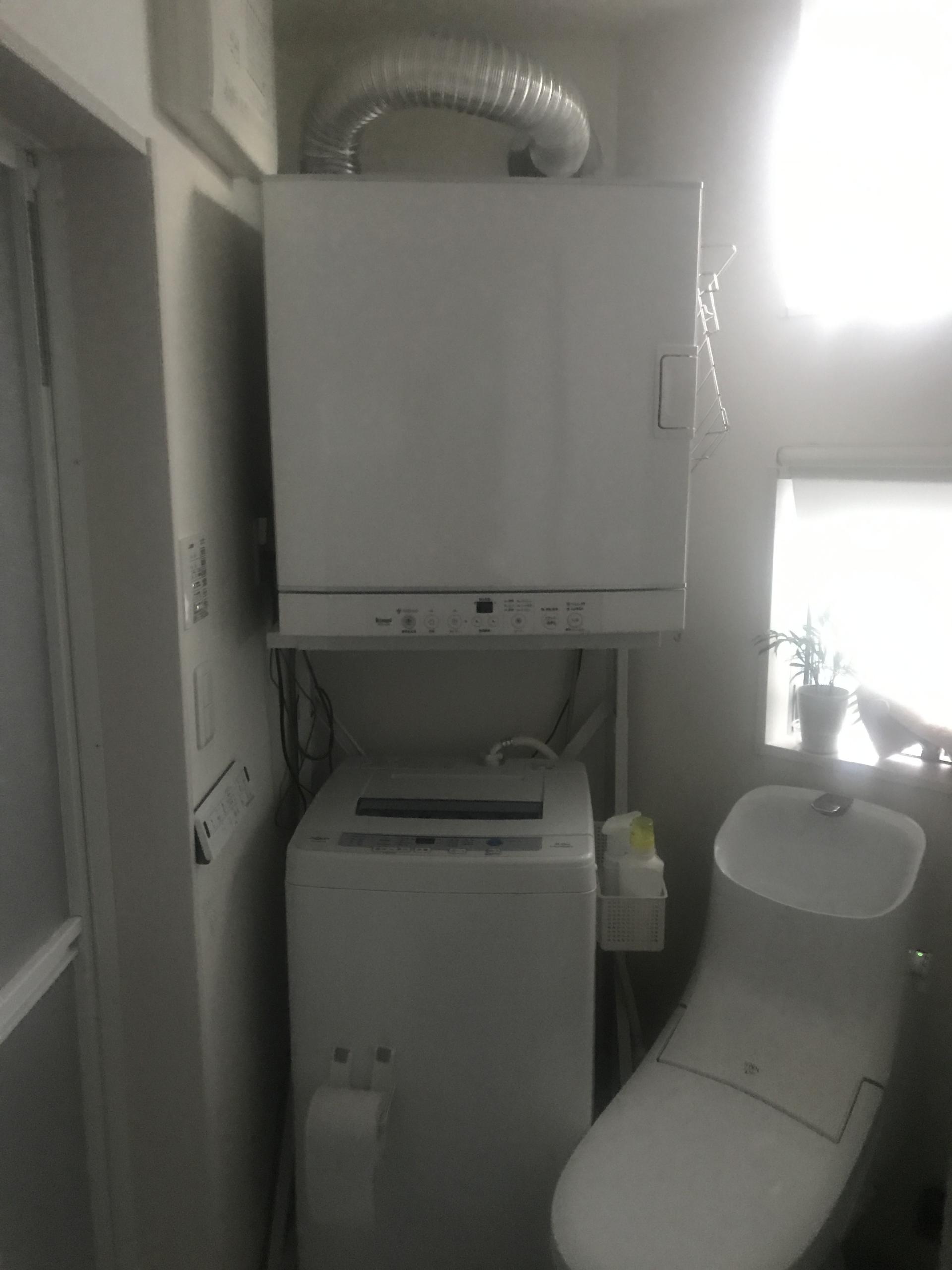 ガス乾燥機DIYで設置!コロナ時代に最適だ!の巻